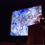 Matt基調講演のタイトルには早速日本の桜が。